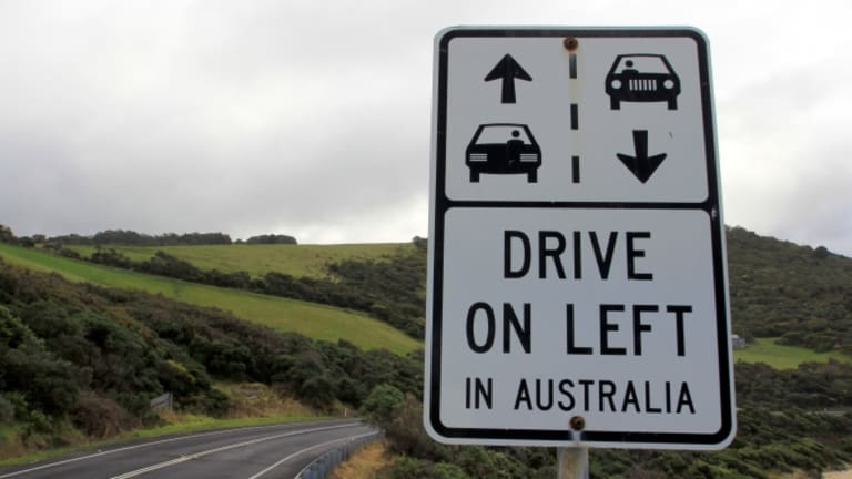 Why do some countries drive on the left side of the road?