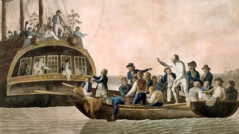 Mutiny on the Bounty, 225 Years Ago