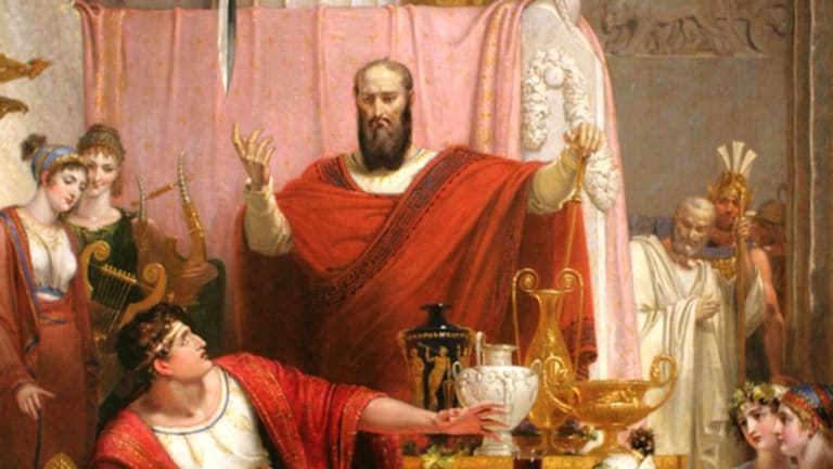 What was the sword of Damocles?