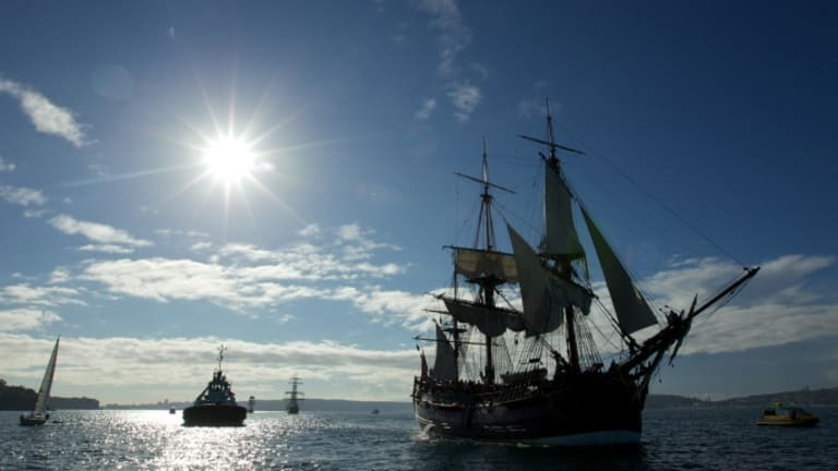 Captain Cook's Famous Flagship Likely in Newport Harbor