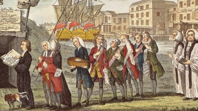 The Stamp Act Riots