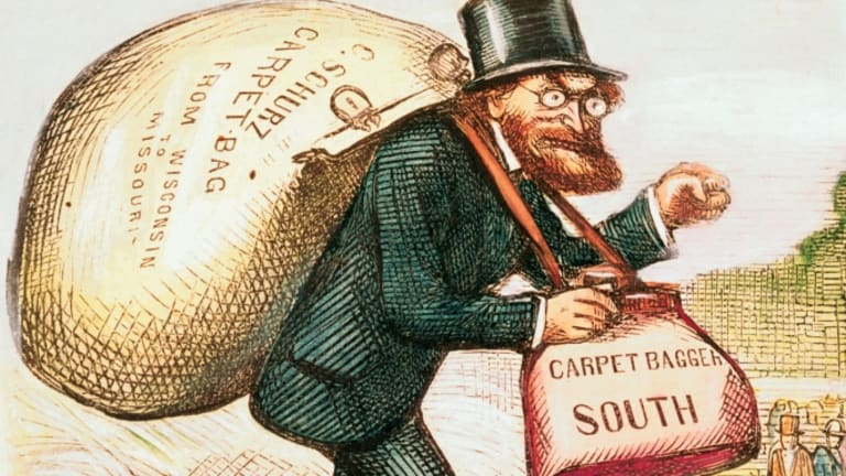 What's the difference between a carpetbagger and a scalawag? - HISTORY