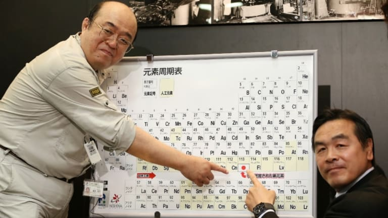Four Additions to Periodic Table Get New Names