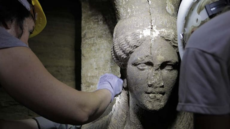 Amphipolis Tomb May Belong to Alexander the Great's Mother