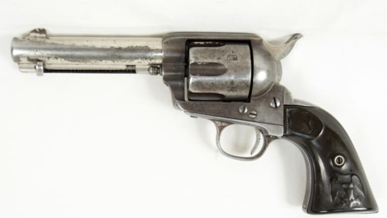 Butch Cassidy Gun With Secret Code Hidden in Grip Sells for $175,000