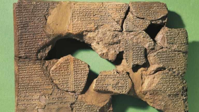 What is the oldest known piece of literature?