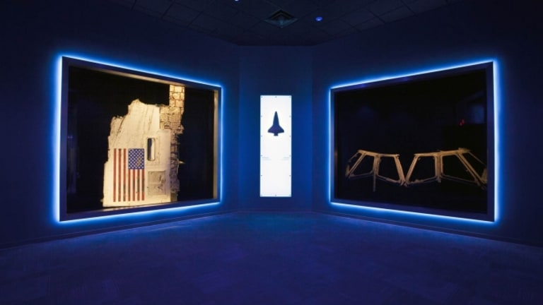 NASA Displays Challenger and Columbia Wreckage