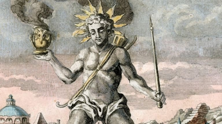 What was the Colossus of Rhodes?