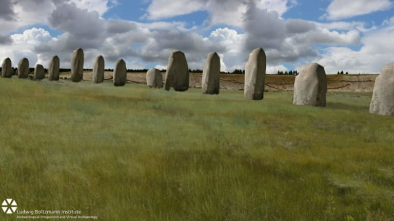 "Newly Discovered ""Superhenge"" May Rewrite History"