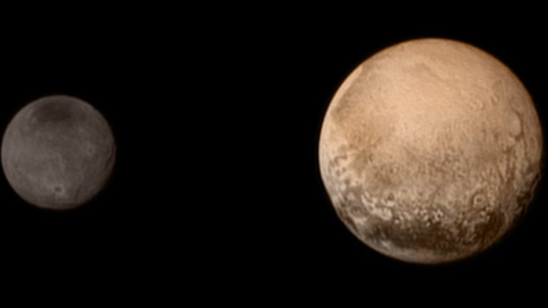 NASA Space Probe Makes Historic Pluto Flyby