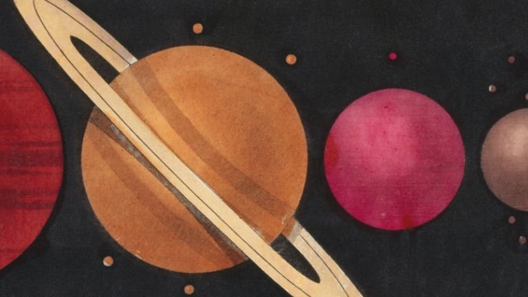 Who named the planets?