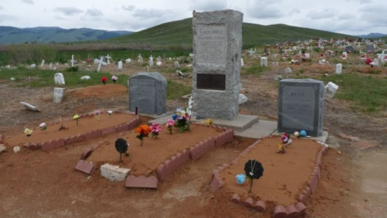 Who's Buried in Sacagawea's Grave?