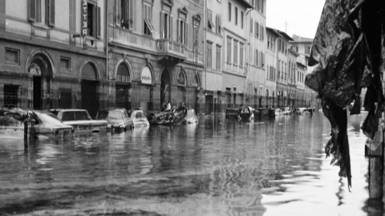 The Disaster that Deluged Florence's Cultural Treasures