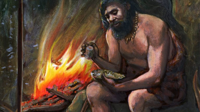 Neanderthals Knew How to Start a Fire