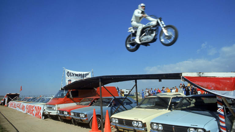 What Are the Most Insanely Daring Stunts Since Evel Knievel?