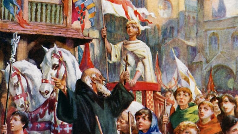 The Disastrous Time Tens of Thousands of Children Tried to Start a Crusade