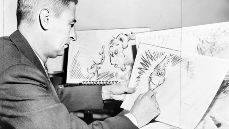 Dr Seuss drawing
