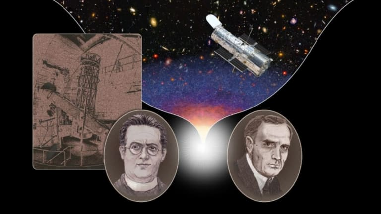 Was Expanding Universe Discoverer Too Humble for Hubble?