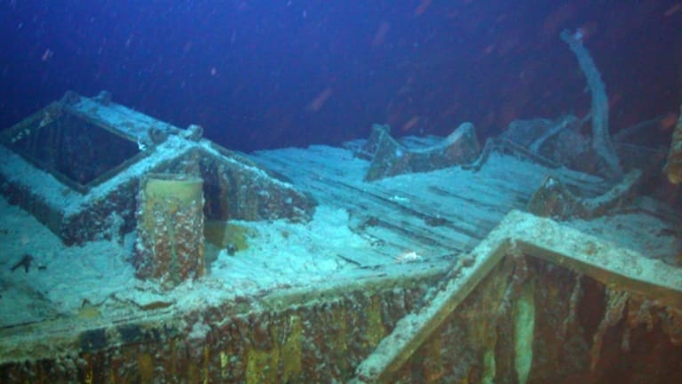Silver-Laden World War II Shipwreck Discovered