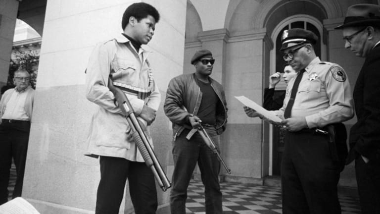 The NRA Supported Gun Control When the Black Panthers Had the Weapons
