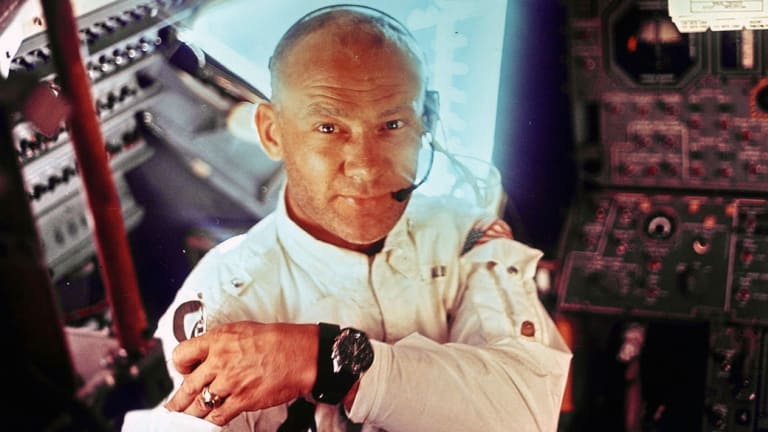 Buzz Aldrin Took Holy Communion on the Moon. NASA Kept it Quiet