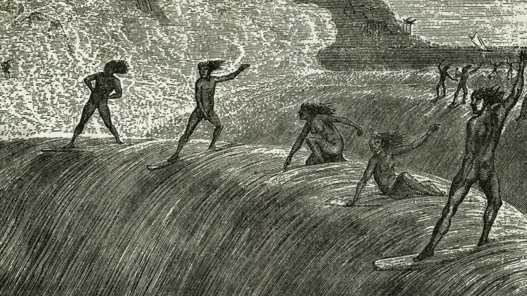 Women Surfers Have Been Riding Waves Since the 1600s