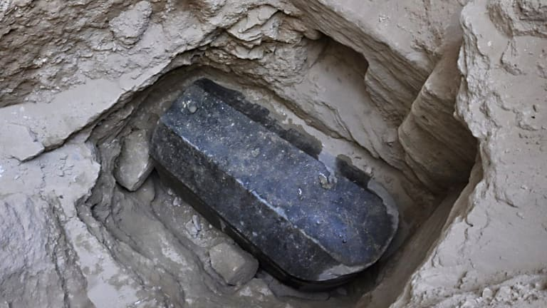 Mysterious Sarcophagus Reveals Three Mummies Stewing in Sewage