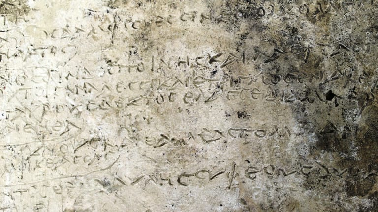 Earliest Known Written Record of Homer's Odyssey Found in Greece