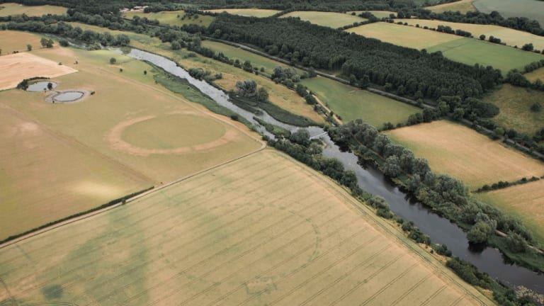 Drone Spots 5,000-Year-Old Henge in Ireland