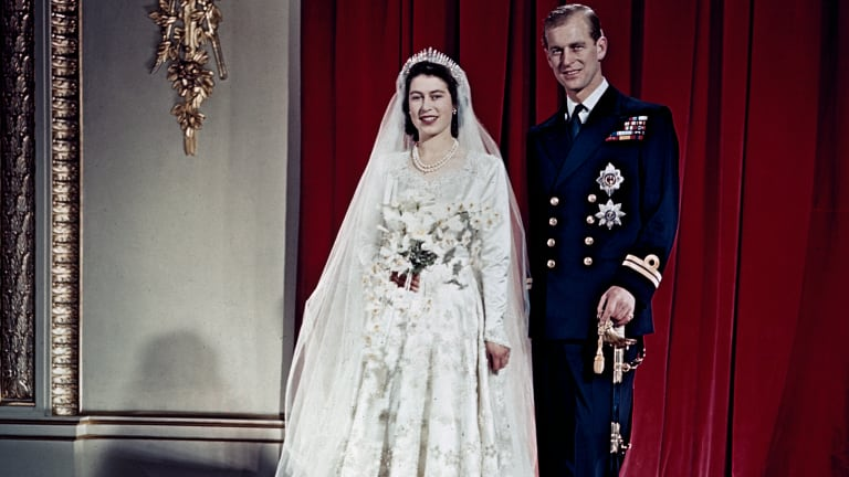 Glorious Behind the Scenes Photos of Queen Elizabeth's 1947 Wedding