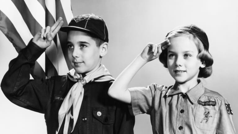 The Historic Rivalry Between Boy Scouts and Girl Scouts