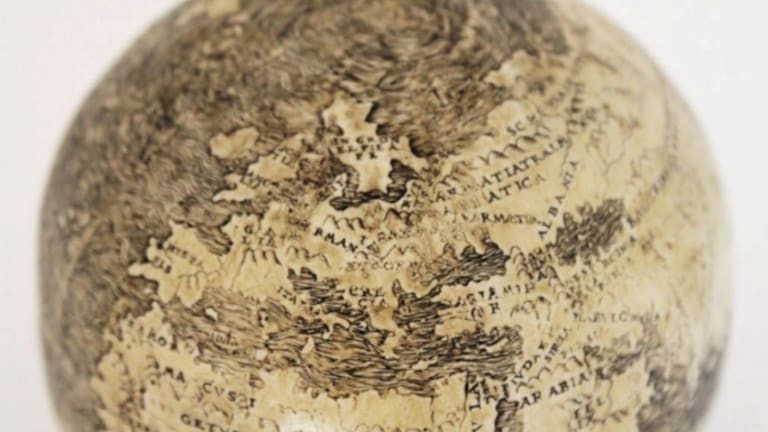 Ostrich-Egg Globe May Be Oldest to Depict New World