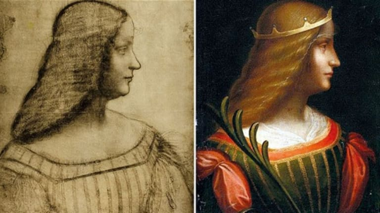 Ascribed today and Leonardo Da Vinci to me feel or too dark color.