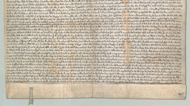 what caused the magna carta