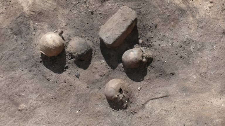 Ancient Plague Victims Found in Egypt