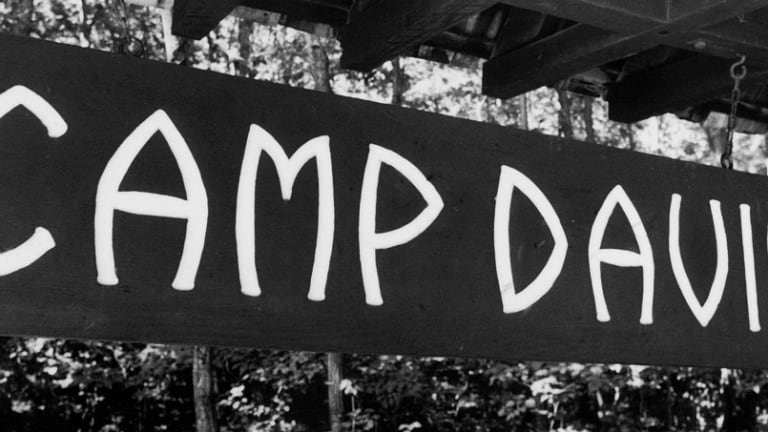 How did Camp David gets its name?