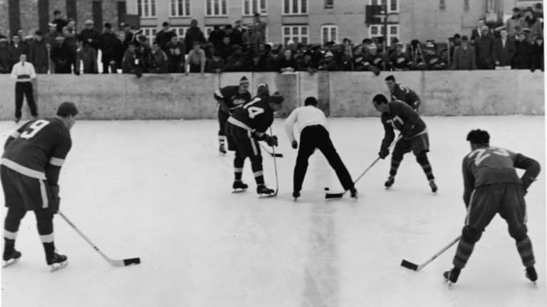 You Won't Believe Where the First NHL Outdoor Game Was Played