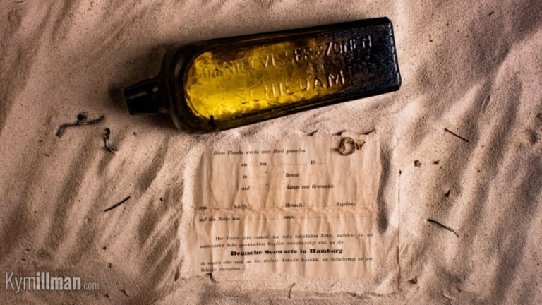 World's Oldest Message in a Bottle Discovered in a Gin Bottle