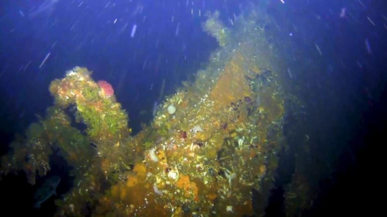 Hunk of World War II US Destroyer Discovered Off Alaskan Island