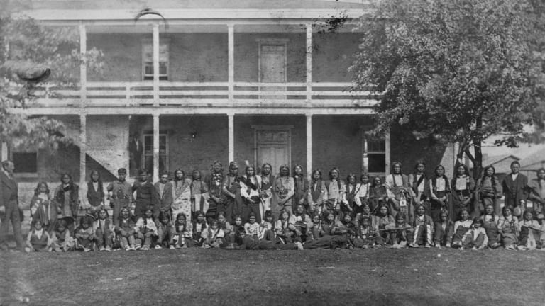 How Boarding Schools Tried to 'Kill the Indian' Through Assimilation