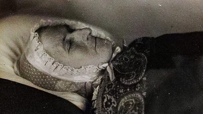 Photos After Death: Post-Mortem Portraits Preserved Dead Family