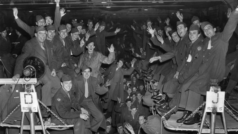 World War II Ends: 22 Photos of Giddy Celebrations After Allied Victory