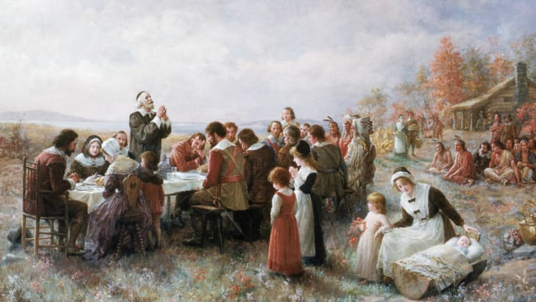 Colonists at the First Thanksgiving Were Mostly Men Because Women Had Perished