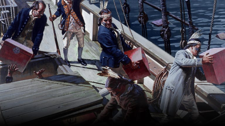 7 Surprising Facts About the Boston Tea Party