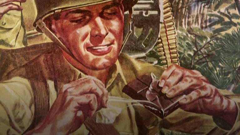 How Hershey's Chocolate Helped Power Allied Troops During WWII
