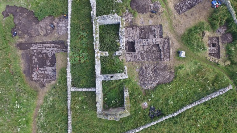 Viking 'Drinking Hall' Uncovered in Scotland