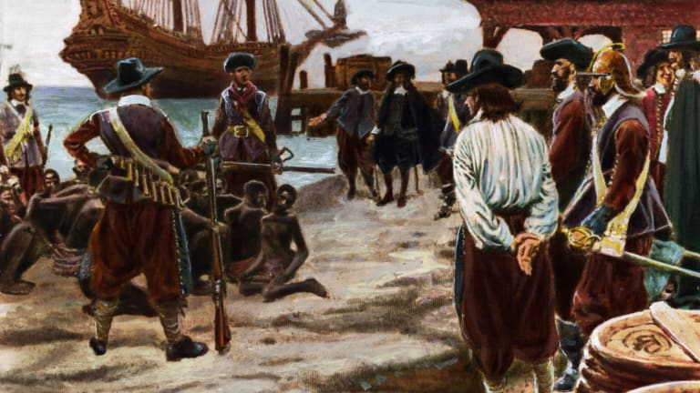 America's History of Slavery Began Long Before Jamestown