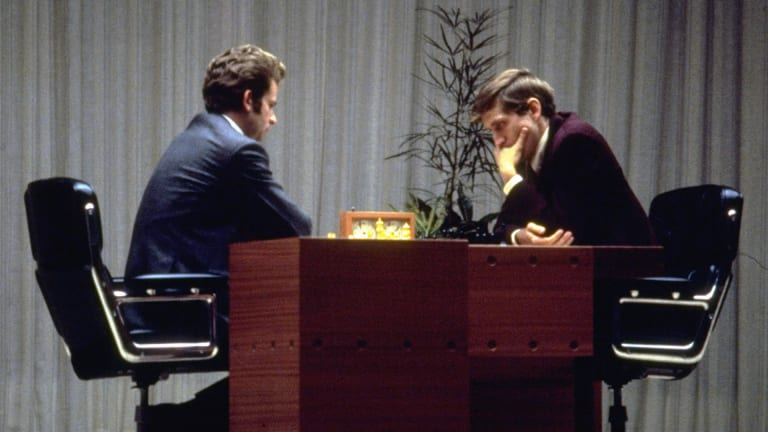 Bobby Fischer becomes the first American to win the World Chess Championship