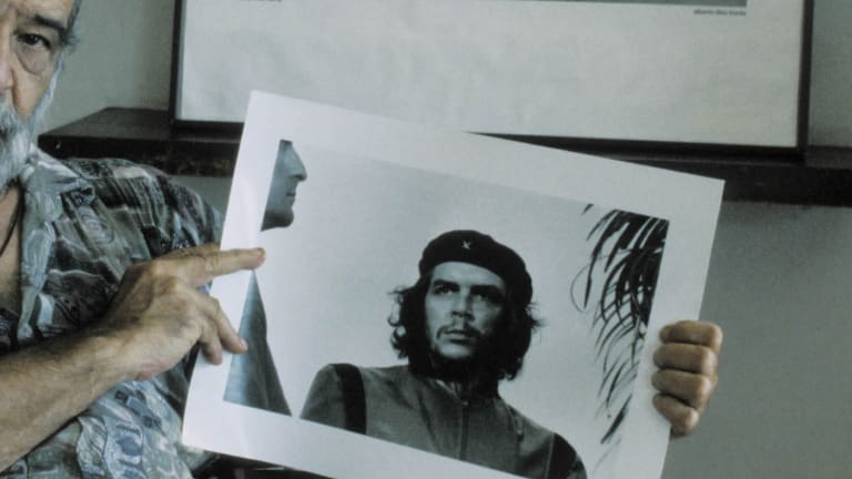Iconic photo of Che Guevara taken
