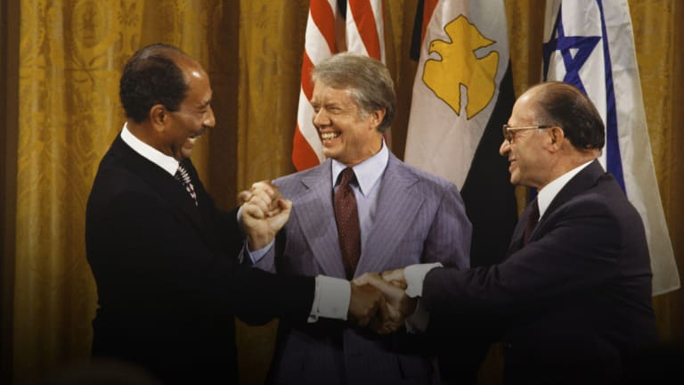 How Jimmy Carter Brokered a Hard-Won Peace Deal Between Israel and Egypt